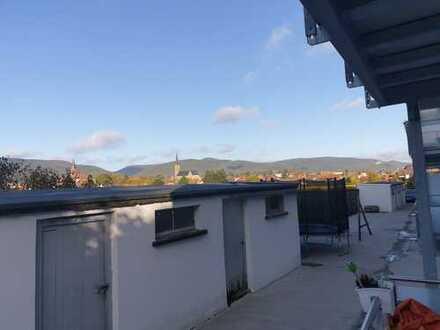 Gepflegte 3-Zimmer-Erdgeschosswohnung mit Balkon und Einbauküche in Edenkoben