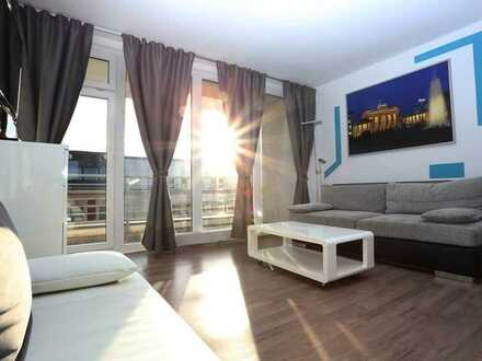 Bright furnished 3 rooms apartment in Tempelhof