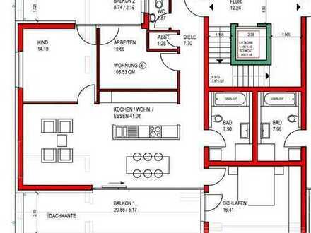 4-Zi. Penthouse Neubau