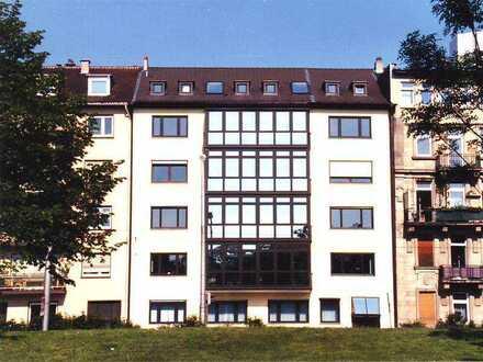 Blick auf den Luisenpark: Großzügige 5-Zimmer-Wohnetage mit Aufzug in Mannheim-Oststadt