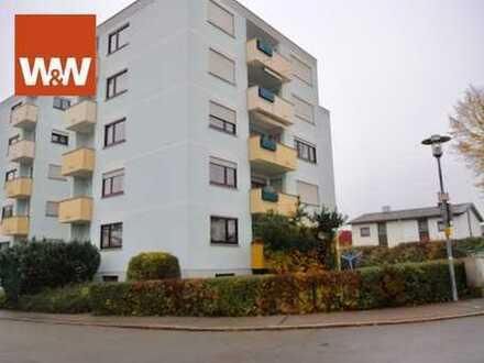 Schöne 4-Zimmer-Wohnung mit 2 Balkonen in ruhiger Lage