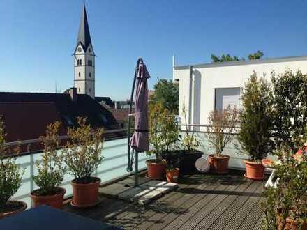 Penthouse über den Dächern von Markdorf