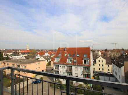 Über den Dächern der Augsburger: 2-Zi-Whg: Verkehrsgünstig, ruhig, mit Aufzug, Balkon & TG!