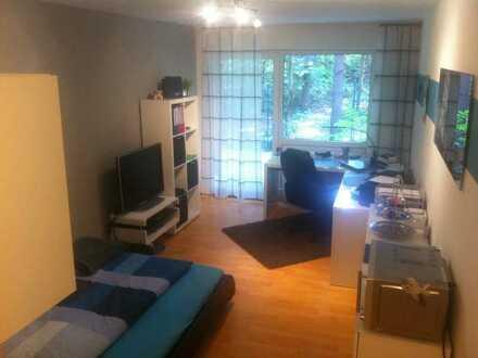 moderne 1 Zimmer Wohnung mit Südbalkon in Erlangen - Bruck