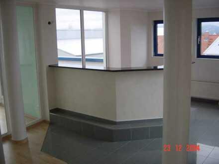 Wohnen und Arbeiten unter einem Dach: Großzügige Wohn- und Bürofläche mit Dachterrassen