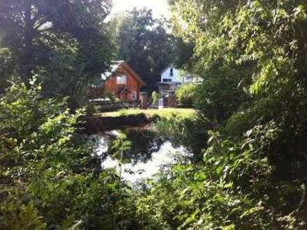 Idyllisches Wochenendgrundstück mit Teich zu verkaufen!