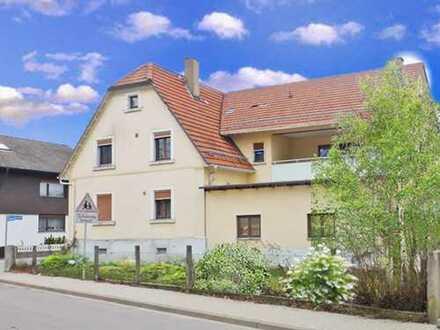 Au am Rhein: In der herrlichen Rheinlandschaft zwischen Raststatt & Karlsruhe - Wohnhaus mit Gewerbe