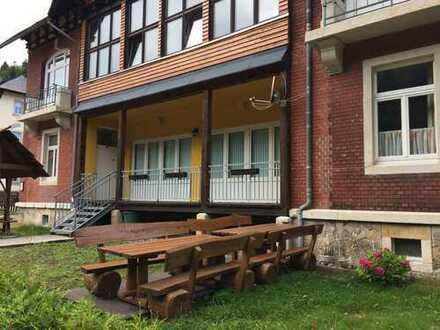 Gewerberäume mit Kleinbahnanbindung im Kurort Kipsdorf