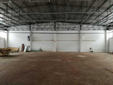 Industriehalle in Toplage - unmittelbare Nähe zur BAB A71