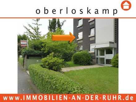4-Zimmer-Wohnung im 1. Obergeschoss mit PKW-Stellplatz, Balkon und Einbauküche in Mülheim/Broich