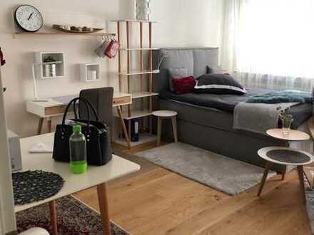 Schöne, möblierte ein Zimmer Wohnung in Stuttgart, West