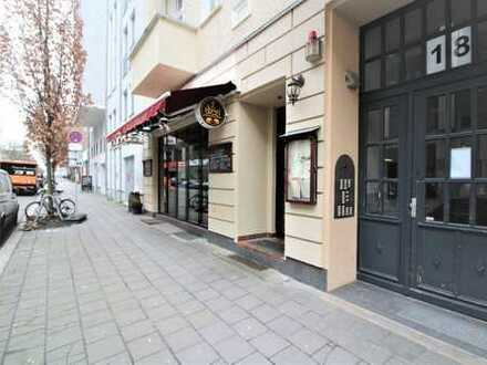 Prenzlauer Berg: Gastronomiefläche im Bötzowkiez, ca. 120 m², gut vermietet mit Potential