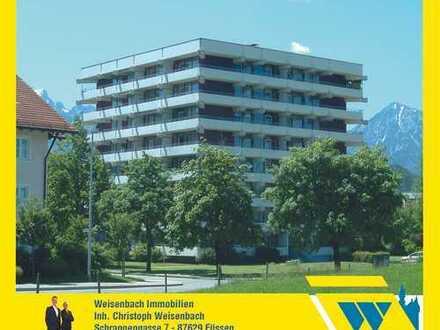 Renovierte 2-Zimmer-Wohnung mit Südbalkon und herrlichem Bergblick