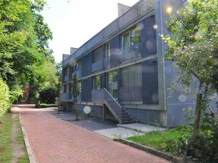 Erstbezug mit Balkon: moderne 3-Zimmer-Wohnung in CLP, KfW 55, PKW-Stellplatz