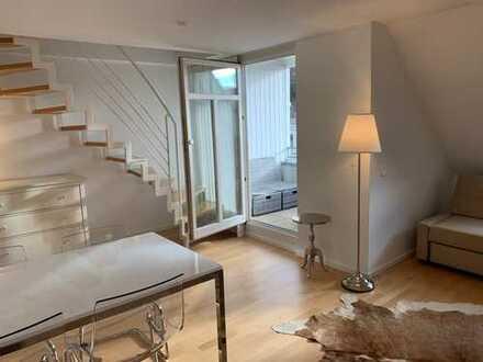 Möblierte ruhige 3-Zimmer Maisonette Wohnung in zentraler Lage Heidelbergs