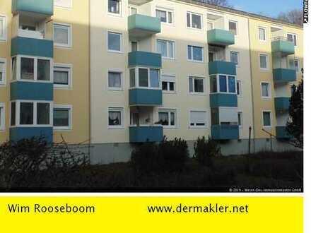 Bremen-Osterholz: Sanierte 3 Zimmer Wohnung mit Balkon