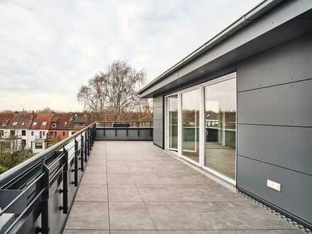 Penthouse Wohnung am Bürgerpark