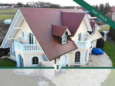 Majestätische Villa mit unverbaubarem Ausblick in Oberasbach