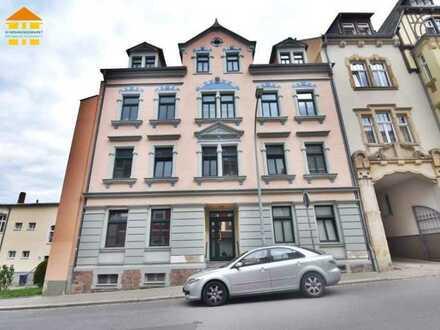Ideal geschnittene 1-Raum-Wohnung mit Balkon zur Eigennutzung oder Kapitalanlage in Waldheim!