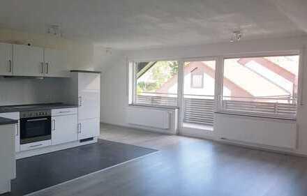 Neuwertige 2-Zimmer-Dachgeschosswohnung mit Balkon und EBK in Bisingen
