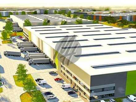 KEINE PROVISION ✓ NEUBAU ✓ Lager-/Logistikflächen (20.000 m²) & Büroflächen zu vermieten