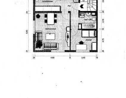 Gepflegte 3-Zimmer-Wohnung mit Balkon und EBK in Pforzheim