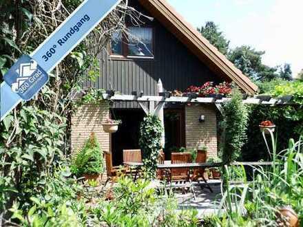 Idyllisches Holzhaus mit Seenähe in Markkleeberg