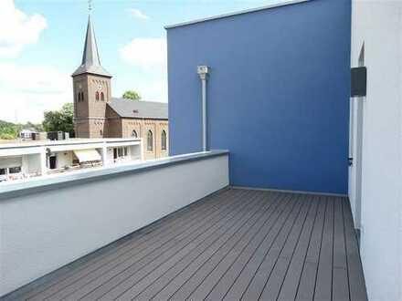 Ein Highlight für Frischluftfans! Barrierearme Neubauwohnung mit Dachterrasse und zwei Balkonen!