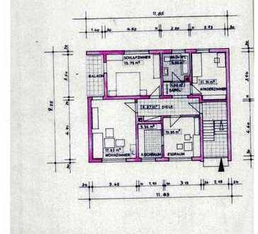 Modernisierte 3,5-Zimmer-Wohnung mit EBK in Neidenstein
