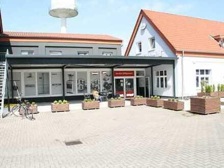 Multifunktionaler Gewerbekomplex mit Hotel, Möbelkaufhaus und Hochregallager