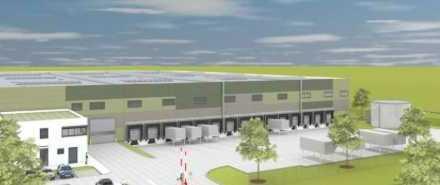 """""""BAUMÜLLER & CO."""" - SOFORT VERFÜGBAR - NEUBAU - ca. 15.000 m² Logistik-Komplex - TOP Anbindung"""