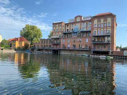 Geräumiges 4-Zimmer-Loft Appartement zur Miete in direkter Wasserlage in Brandenburg an der Havel