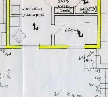 Schöne, geräumige ein Zimmer Wohnung in Erlangen-Höchstadt (Kreis), Hemhofen
