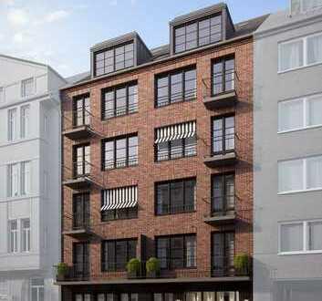 Df.-Flingern/Nord: Attraktive 2-Raum-Wohnung mit großer Sonnenterrasse
