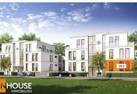 Designer-Wohnung mit großzügiger Terrasse und Freifläche am Stadtquartier Südlich Marien!