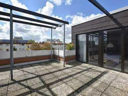 Penthouse mit 2 Dachterrassen und Blick ins Grüne!