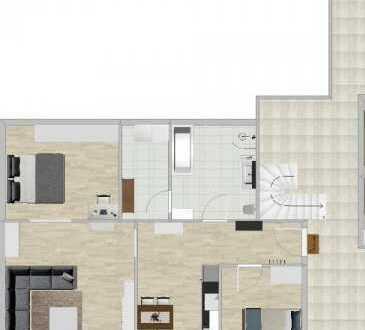 BESICHTIGUNG 28.06. - 30.06. Erstbezug schöne 3-Zimmer-EG-Wohnung mit Einbauküche in Bamme Havelland