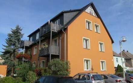 Moderne 2-Zimmerwohnung mit Balkon und Ausblick in ruhiger Lage von Coswig-Brockwitz