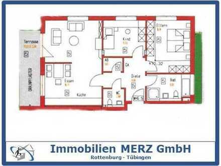 ~~3 Zimmer EG - Neubauwohnung + Terrasse+EBK+TG Stellplatz~~
