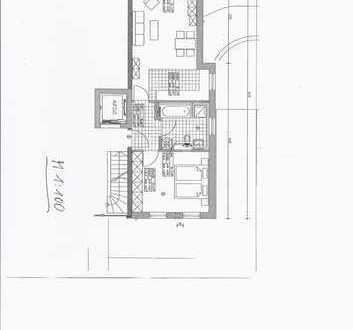Stilvolle, neuwertige 2-Zimmer-Wohnung mit Balkon in Untermeitingen