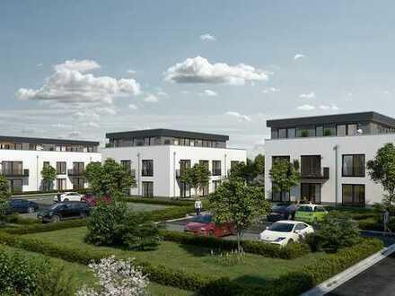 Großzügige 2-Zimmer-Wohnung im EG auf 77 m² mit Terrasse in einem harmonischen Wohnensemble