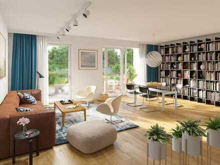 Lebensqualität garantiert! 2-Zimmer-Terassenwohnung mit Süd-Ausrichtung in Naturlage