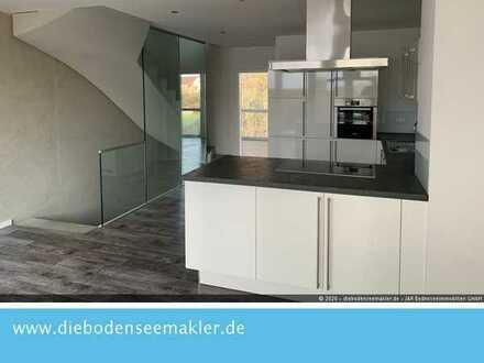 Exklusives Reihenmittelhaus mit 360 Grad Rundumsicht auf der Dachterrasse