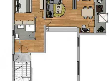 Erstbezug nach Sanierung: attraktive 1,5-Zimmer-Wohnung mit Einbauküche in Königsberg