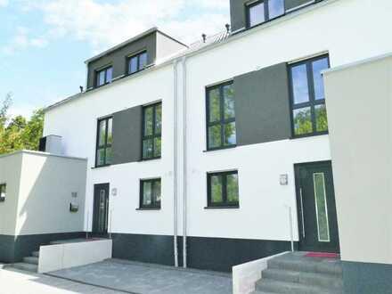 1 Doppelhaushälfte (Erstbezug) in ruhiger Lage in Rheinnähe zu vermieten.