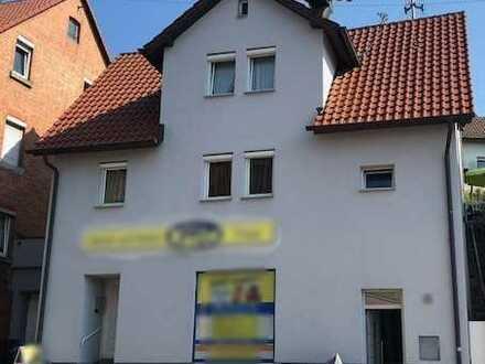 ++ Einfamilienhaus mit Garten, Garage und kleinem Laden in Backnang zu verkaufen !