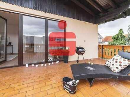 Großzügige Wohnung mit Terrasse