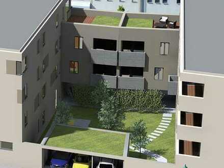 Helle 2-Raum-Wohnung mit Loggia