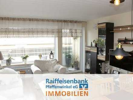 Schongau: Modernisierte 3-Zimmerwohnung in Citylage!