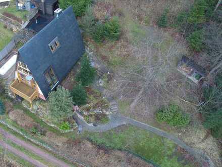 Winterfestes Ferienhaus für Naturliebhaber im Thüringer Wald